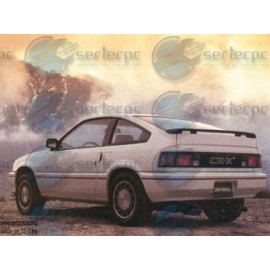 Manual de Taller Honda Crx 84-95