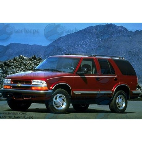 Manual de Taller Chevrolet Blazer 88-98